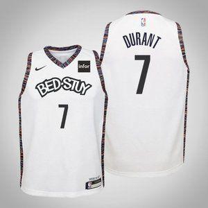 Women Brooklyn Nets Kevin Durant City Jersey
